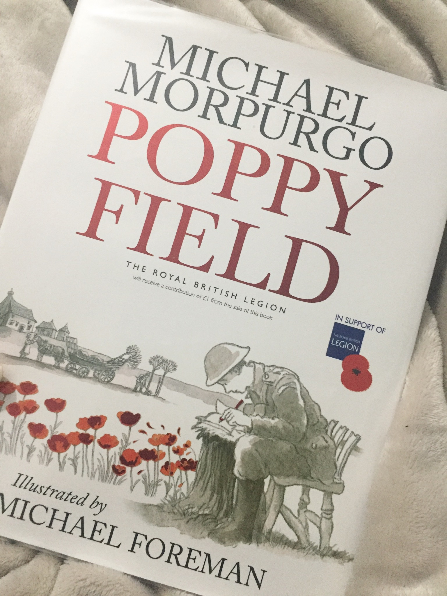 Book Review: Poppy Field by Michael Morpurgo